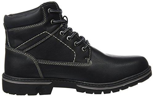Supremo Herren 3714702 Klassische Stiefel Schwarz (Black)