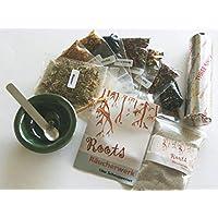Räucherset 14-teilig Starterpaket incl. Weihrauch+Räuchermischungen+Räucherschale+Sand+Edelstahl-Löffel+Räucherkohle... preisvergleich bei billige-tabletten.eu