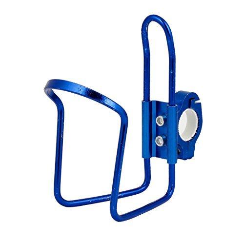 Royal Blue Aluminum Alloy Getränk Wasserflaschenhalter Halter für Fahrrad -