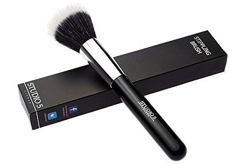 Brosse pointillés par Studio 5 Cosmetics - Duo de fibre brosse de haute qualité