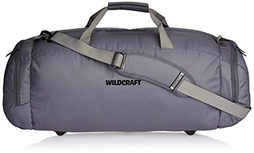 Wildcraft Polyester 58 Cms Grey Travel Duffle