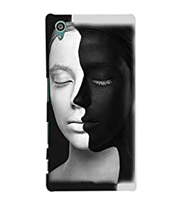 FUSON 3D Designer Back Case Cover foR Sony Xperia Z5 D9843