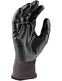 DeWalt Nitrile DPG66 General Purpose Glove - Grey/Black, Large