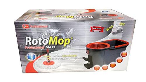 RotoMop Professional Maxi Sistema Professionale Lava e Asciuga a Pedale
