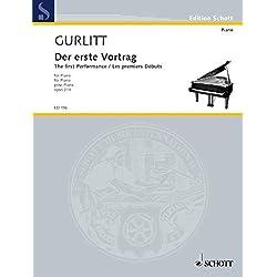 Der erste Vortrag: op. 210. Klavier. (Edition Schott)