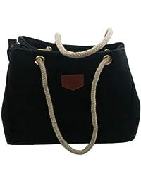 Negro Cañamo Amazon Bolsos Y Zapatos es Complementos 1Eq8wqSxP