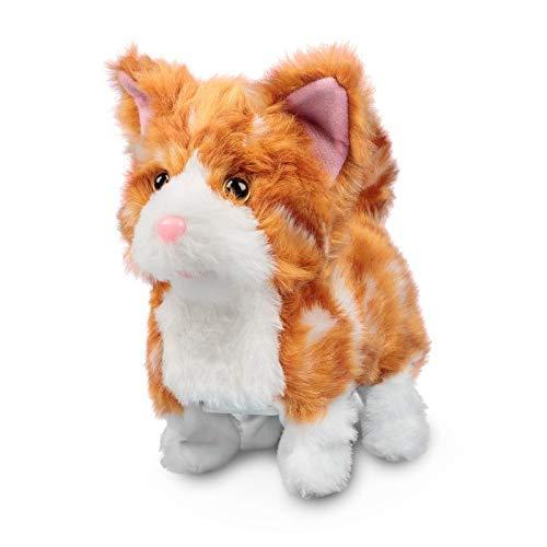 Ginger Kitten Süßes roothaariges Kätzchen / Kuschelige Katze / Läuft und miaut (Elektronisches Spielzeug mit Funktion)
