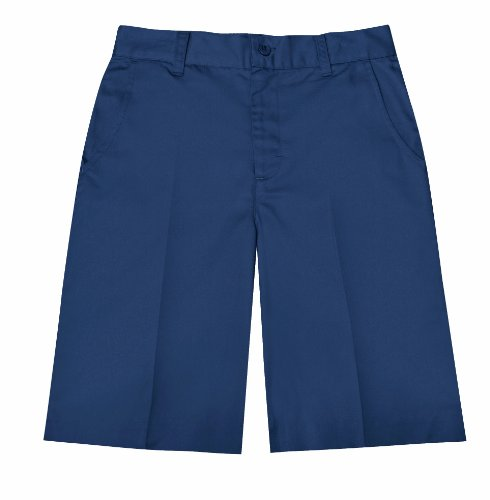 Classroom Uniforms Damen Mädchen Short Gr. 47/48, dunkles marineblau (Uniform Shorts Front Plain)