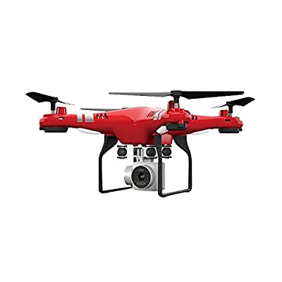 Haihuic X52 Wireless WiFi 2.4GHz 4Axis Steering Engine 2.0MP Camera Video RC Set Height Quadcopter Drone UAV Aircraft from Cewaal