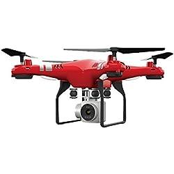 Haihuic X52 inalámbrico WiFi 2.4GHz 4Axis motor de dirección 2.0MP cámara RC vídeo conjunto altura Quadcopter Drone UAV aviones