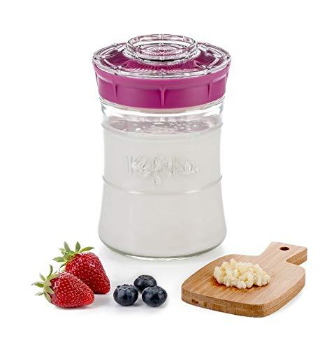Kit ideal para hacer kéfir de Leche o Kefir de Agua en casa