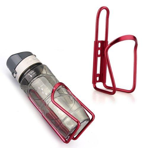 CARCHET? Fahrrad Trinkflaschenhalter Flasche Halter rot Trinkflaschen Halterung