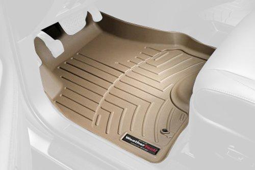 Preisvergleich Produktbild WeatherTech Custom Fit vorne Floorliner für Ford Edge, Tan