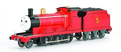 Bachmann Trains Thomas And Friends - James The Red Engine With Moving Eyes by Bachmann Industries Inc.
