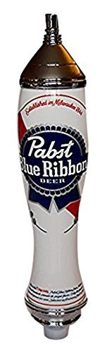 pabst-blue-ribbon-2-sided-acrylic-chrome-tap-handle-12-high-by-pabst-blue-ribbon