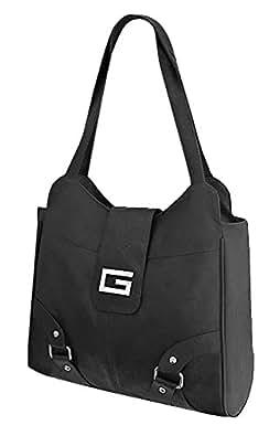 EyeCatch - Portland Womens Faux Leather Bag Brown