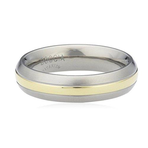 Boccia Unisex-Ring Titan Gr. 63 (20.1) - 0131-0263