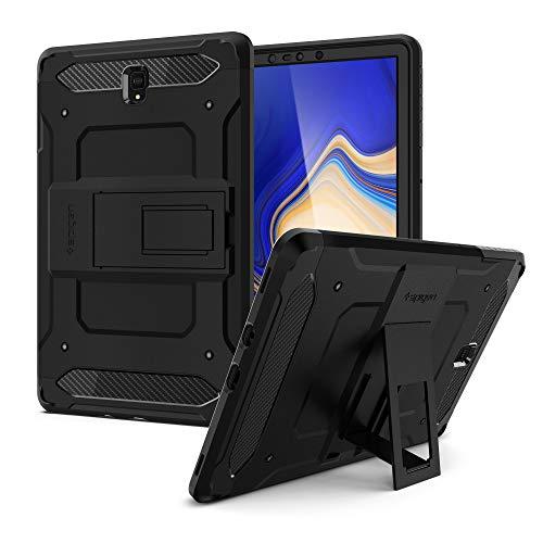 Spigen Galaxy Tab S4 Hülle, Tough Armor TECH entworfen für Galaxy Tab S4 10.5 Zoll 2018 Case Cover (SM-T830/SM-T835) - Schwarz