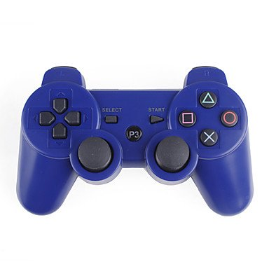 FJL- USD $ 10,95 - Kabelloses Dualshock 3 Steuerkreuz für PlayStation3/ PS3 (Blau) (Playstation3-fan)