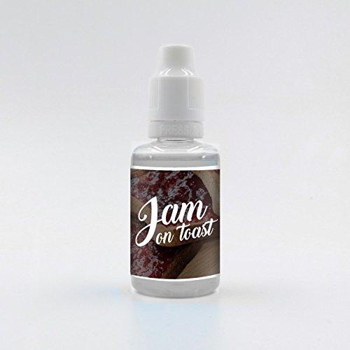 Vampire Vape Premium Aroma made in UK 30ml Größe Jam on Toast
