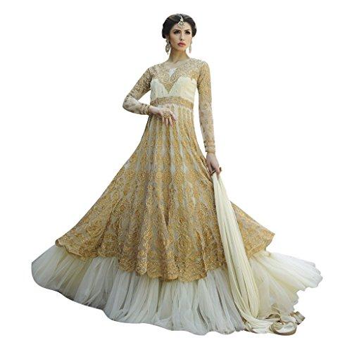 Jay Sarees Rakhi Festive Salwar Suit Anarkali Unstitched