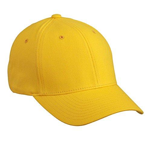Myrtle Beach - Original FLEXFIT Fullcap / Basecap / gold yellow, S/M