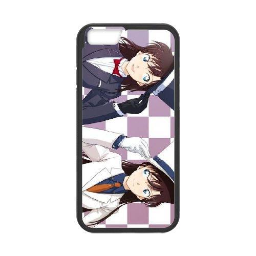 Detective Conan coque iPhone 6 Plus 5.5 Inch Housse téléphone Noir de couverture de cas coque EBDXJKNBO09973