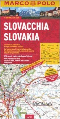Slovacchia 1:200.000. Ediz. multilingue (Carte stradali Marco Polo)