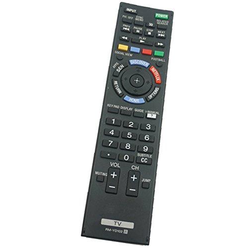 rm-yd102Allgemeine verwendet-Fernbedienung für SONY kdl-42W651a kdl-46W700a 149276611Plasma BRAVIA LCD LED HDTV TV -