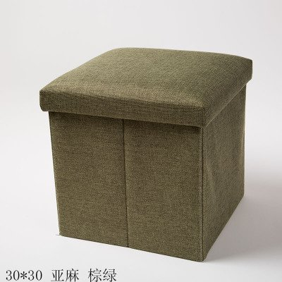 Preisvergleich Produktbild Der Stuhl besteht aus einem Stuhl, einem quadratischen Typ faltbar Bettwäsche, ein Hocker, ein Stuhl, ein Wohnzimmer, ein Hocker und ein Hocker, Braun Grün, Flachs
