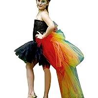 Oliviavan Vestiti in Pizzo da Bambino Ragazza Elegante Costume da  Principessa Partito Compleanno Bambini Vestito Carnevale 866abab7fcf