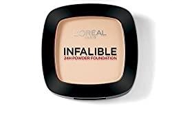 LOreal Paris Infallible 24Hr Compact Powder, Warm Sand 245, 9g