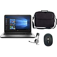 Hp 15-250G6 Laptop , Intel Celeron N3060 , 15.6 Inch , 500 GB , 4 GB RAM , DOS , Gray with Laptop Bag , Mouse and Headphone