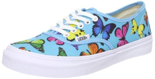 Vans U AUTHENTIC SLIM VQEV7GW, Sneaker unisex adulto, Blu (Blau ((Butterflies) s)), 35