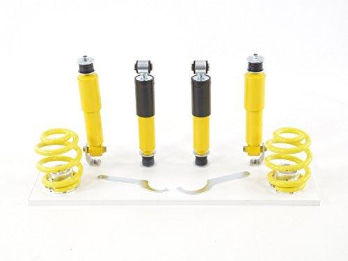 VW T4 Vogtland HD lowering suspension springs 5 mm spring shims 50mm drop