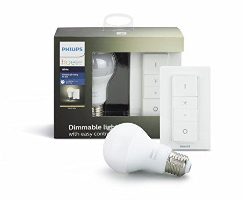 Philips-Hue-White-Bombilla-LED-individual-interruptor-inalmbrico-95-W-E27-iluminacin-conectada-luz-blanca-clida-regulable-compatible-con-Apple-Homekit-y-Google-Home