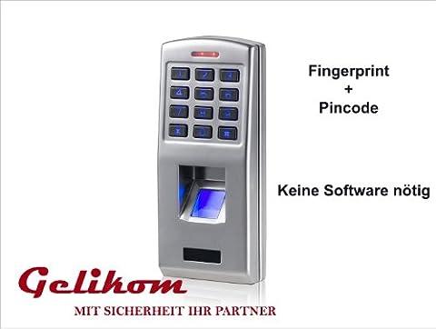 Biometrisches Fingerprint & Code Türschloss Türöffner