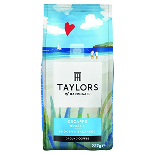 Taylors Of Harrogate Decaffé Ground Coffee 227 G (Pack of 3)