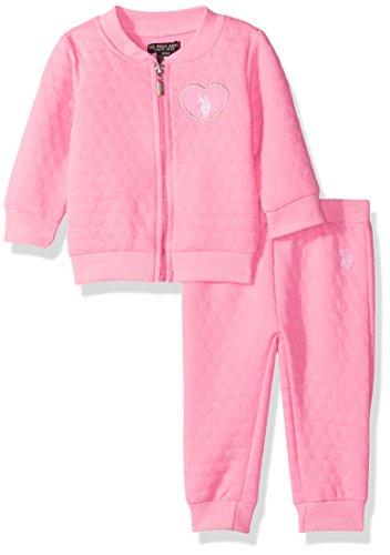 U.S. Polo Assn. Bambine tuta - rosa - 6-9 Mesi