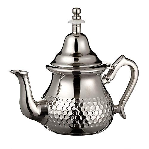 100% Quality Teiera Orientale Araba In Ottone With Traditional Methods Antiques Other Asian Antiques