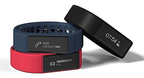 SMART Bracelet de montre Bande de fitness podomètre pour iPhone iOS Android trois sortes de couleur