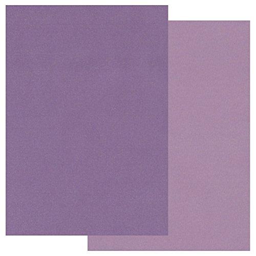 Groovi two tono a5–carta pergamena colorata viola x 20