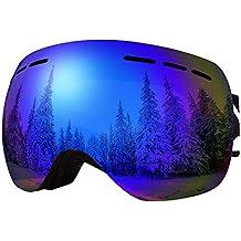 Goggle ist Skihelm Kompatibel SINNER Skibrille f/ür Herren und Damen in Mehreren Stylischen Farben Brille f/ür Ski /& Snowboard mit Beschlag und UV Schutz /& Doppel-Objektiv f/ür Anti-Fog