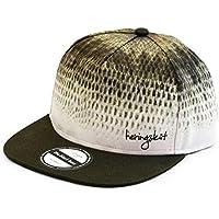 heringsküt - Pescador Gorra Gorro I Baseballcap Hat para Pescadores Gorra de Pesca Snapback Ropa de Pesca | Regalos para Pescadores | Bajo Negro Black Bass