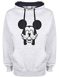 Mickey Mouse Swag Trippy Disney Dope Fuck Qualità Superiore Sudadera con Capucha Unisex