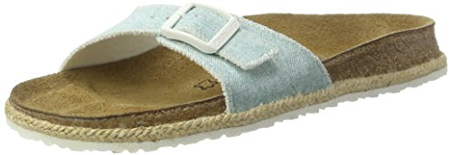 Papillio Madrid Birko-Flor, Mules Femme, Beach Purple Blau (Beach Light Blue)