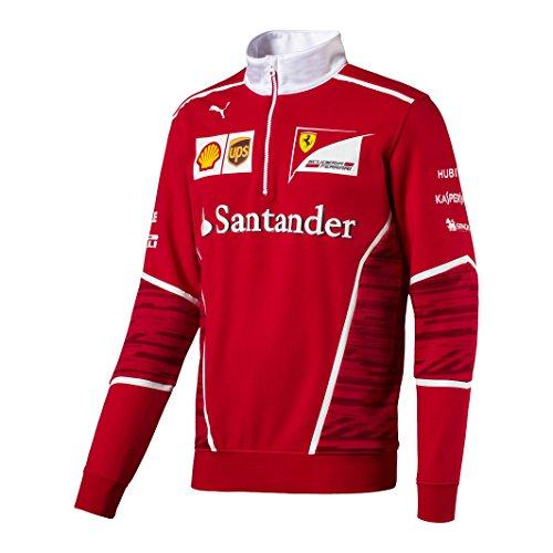 2017 Ferrari F1 Formula One Team Sweat à Demi Fermeture Éclair pour Homme  par 4383d3175c1