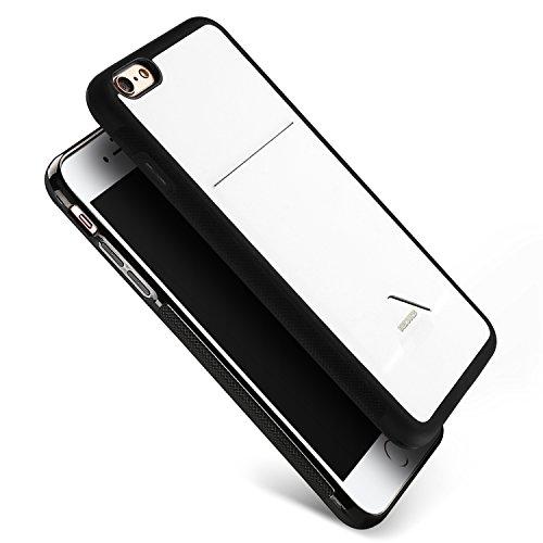 Galleria fotografica Dux Ducis Custodia in Silicone con Slot per schede Cover per Apple iphone 6s Plus/iphone 6 Plus - Bianco