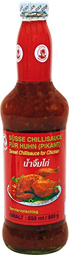 Cock Süße Chilisauce für Huhn, 2er Pack (2 x 650 ml)