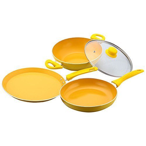 Wonderchef Da Vinci Set, 4-Pieces With Free Spoon & Spatula worth 750/-